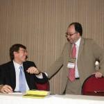 descontração com Dr. Domingos Zainaghi